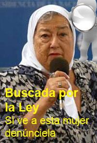 Hebe Pastor de Bonafini, emperatriz de Madres de Plaza de Mayo®