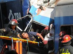 TBA. Más de 50 muertos y 700 heridos por falta de inversión en mantenimiento, en un punto en el que Capital recibe los esclavos de Provincia de Bs As