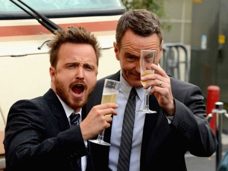 aaron-paul-and-bryan-cranston-drove-the-breaking-bad-rv-to-the-shows-premiere-photos