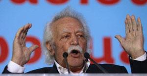 El resistente griego Manolis Glezos. Reuters