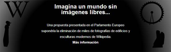 Imagina un mundo sin imágenes libres / Imagine a world without free images