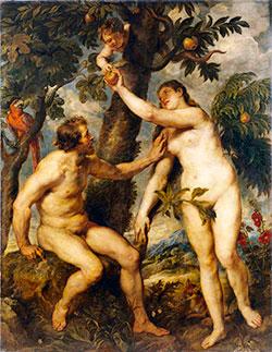 Rubens - Adán y Eva