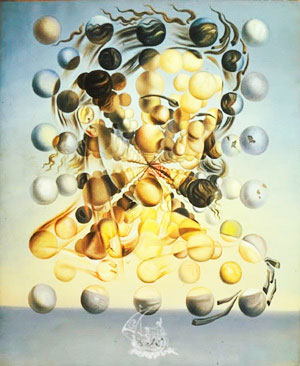 Galatea de la esferas, Salvador Dalí.