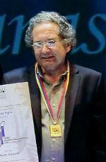 Piglia recibe el Premio Rómulo Gallegos, Caracas, 2 de agosto de 2011