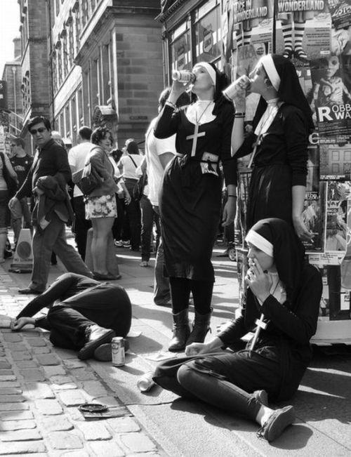 drunk-nuns